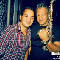 Eike Sax & DJ Benny @ Blaulicht Union Party / photo: Robin Tasi