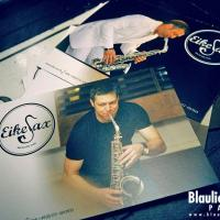 Eike Sax Flyer @ Blaulicht Union Party / photo: Robin Tasi